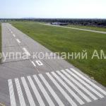 Разметка взлетно-посадочной полосы (4)