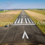 Разметка взлетно-посадочной полосы
