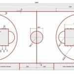 схема баскетбольной разметки