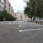 Разметка парковки во дворе