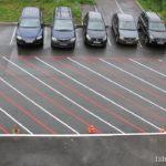 Разметка парковки во дворе (3)