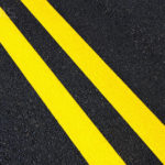 Yellow Lines in Road