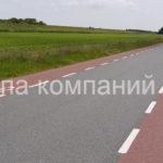 Разметка велосипедных дорожек (3)