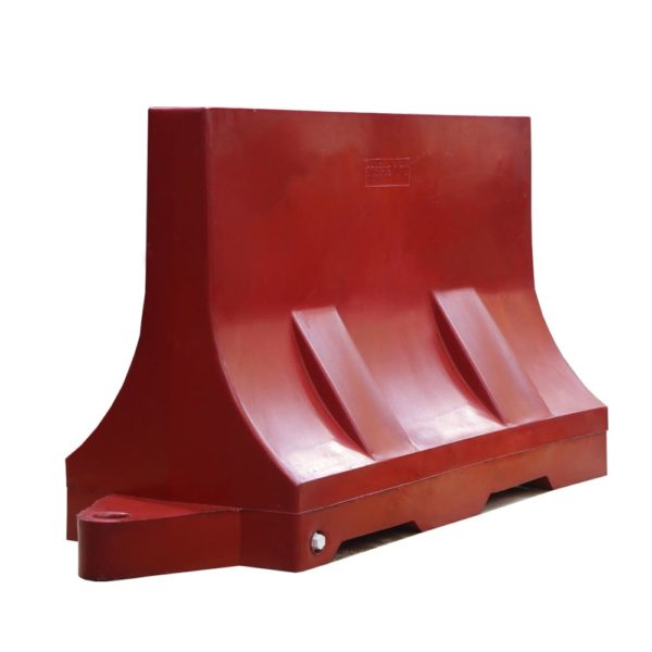 блок дорожный водоналивной 1,2м красный
