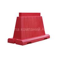 блок дорожный вкладывающийся 1,2м красный