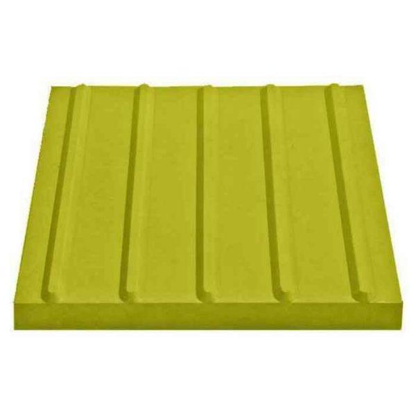Тактильная плитка с продольными рифами 500