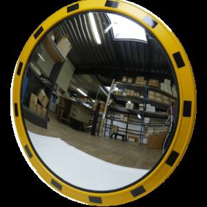 Индустриальное зеркало круглое